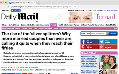 The rise of the 'silver splitters': Why more married couples than ever are calling it quits when they reach their fifties